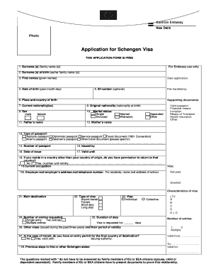Austria Visa Application Form Pdf Fill Online Printable Fillable Blank Pdffiller