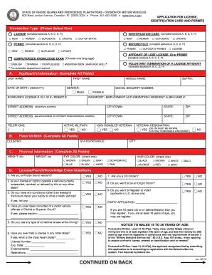 Rhode island dmv identification card fill online printable rhode island dmv identification card publicscrutiny Choice Image