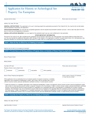 50 122 property tax form