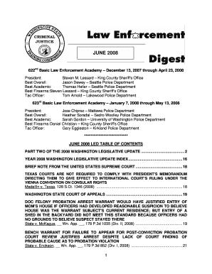 Steven Lessard King County Sheriff - Fill Online, Printable