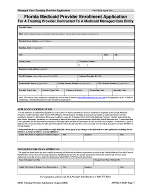 Florida Medicaid Application Online - Fill Online, Printable ...