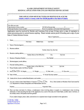 nyc process servers license renewal application pdf