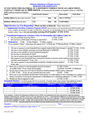 picture relating to Printable Medicaid Application known as 2016-2019 Sort AR DCO-215 Fill On the web, Printable, Fillable
