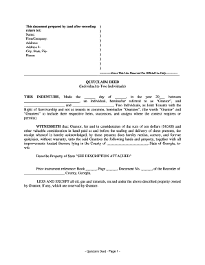 Quit claim deed georgia form fill online printable fillable quit claim deed georgia form thecheapjerseys Choice Image