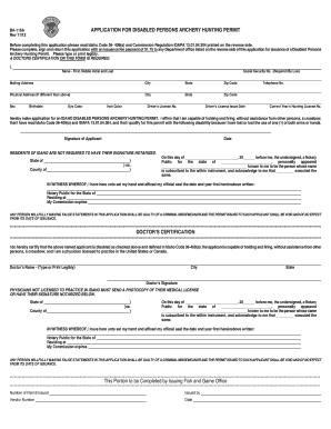 Disabled archery permit idaho fill online printable for Idaho fishing license online