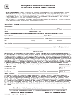 roof certification form template - blank roofing contract forms joy studio design gallery