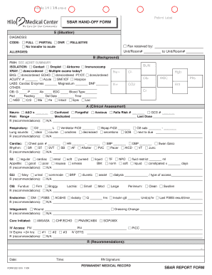sbar printable forms Sbar Taxation - Fill Online, Printable, Fillable, Blank | PDFfiller