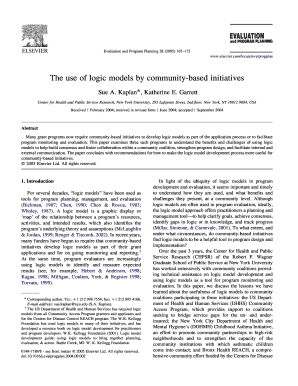 kellogg logic model template forms fillable printable samples