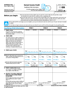 schedule eic form Fill Online, Printable, Fillable, Blank - PDFfiller