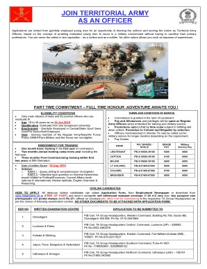 territorial army apply online 2015 form