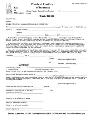 City Of Milwaukee Dns 114b V9 Fill Online Printable