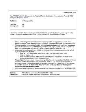 Florida Dh 680 Form Printable Fill Online Printable