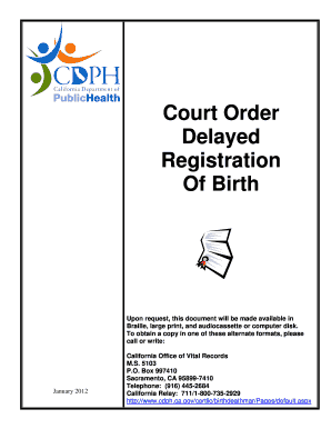 8 Printable hospital birth certificate sample Forms and