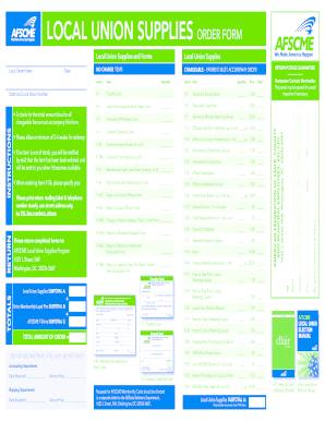 local union supplies order form council 81 student budget worksheet dave ramsey