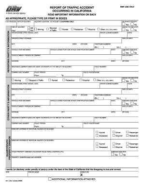 2008 2018 form ca dmv form sr 1 fill online printable for Dmv motor vehicle report