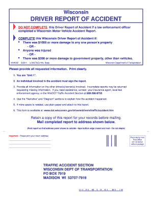Texas drivers crash report form cr200