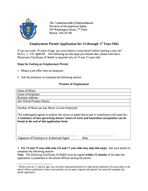 Job Application Forms For 17 Year Olds Fill Online Printable Fillable Blank Pdffiller