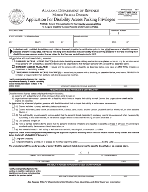Unusual image pertaining to printable disability application