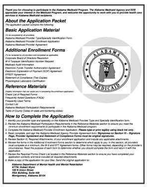 Apply For Alabama Medicaid Online - Fill Online, Printable ...