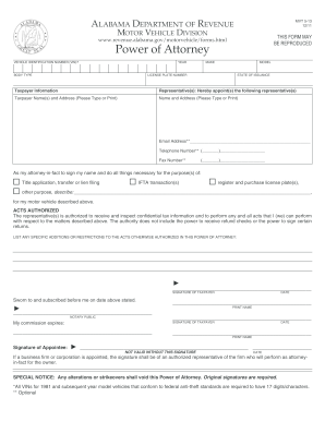 Alabama Motor Vehicle Affidavit Form Forms and Templates - Fillable ...