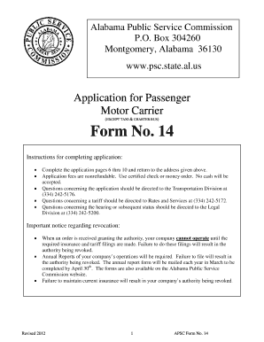 Application for motor carrier certificate or permit in for Motor carrier number lookup