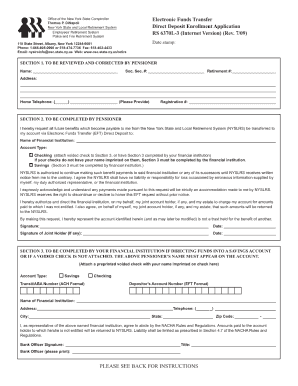 file a complaint about nyslrs form