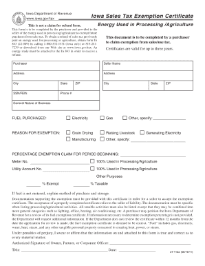 Iowa Resale Certificate Form - Fill Online, Printable, Fillable ...