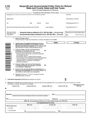 E 585 - Fill Online, Printable, Fillable, Blank   PDFfiller