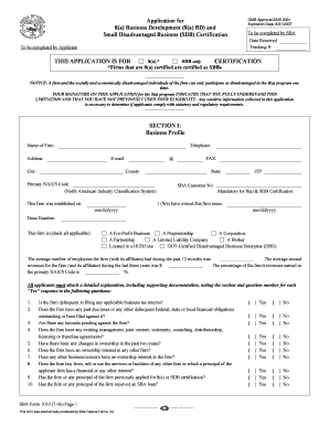 Fillable Sba Form 1010 - Fill Online, Printable, Fillable, Blank ...