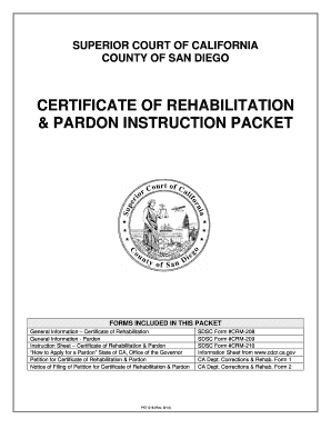 Birth certificate correction california forms and templates petition for a certificate of rehabilitation and pardon los angeles california form yelopaper Image collections