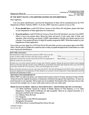 New York Id Application Form - Fill Online, Printable, Fillable ...