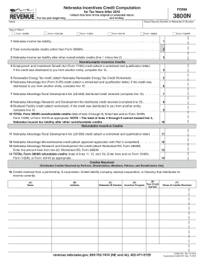 Form 3800n - Fill Online, Printable, Fillable, Blank | PDFfiller