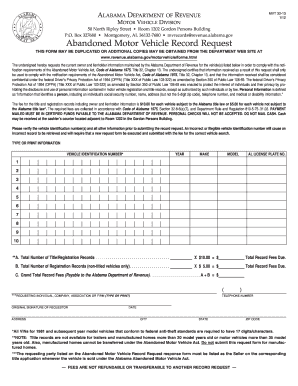 2012 Form Al Mvt 32 13 Fill Online Printable Fillable