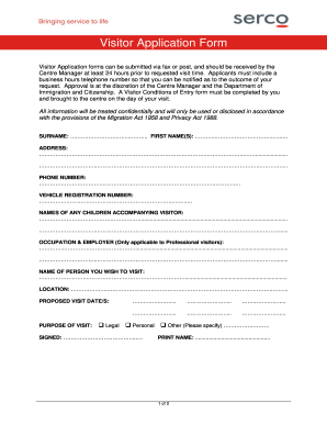 972709 Visitor Application Form on pdf big exhibit n, correctional rehabilitation, register printable, visa canada application, printable version mexico,