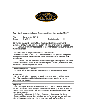 How to write a letter of introduction forms and templates fillable title cover letter south carolina department of education ed sc spiritdancerdesigns Choice Image