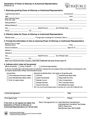 Bill Of Sale Form Iowa Power Of Attorney Authorization Form ...