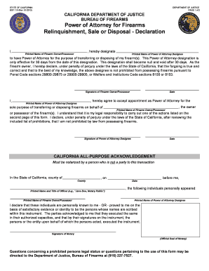 relinquish power of attorney form  Bof12 - Fill Online, Printable, Fillable, Blank   PDFfiller