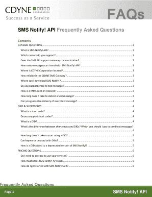 sms request form canada fillable printable online forms
