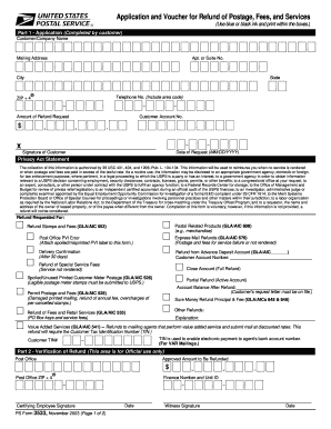 2003 Form USPS PS 3533 Fill Online, Printable, Fillable, Blank ...