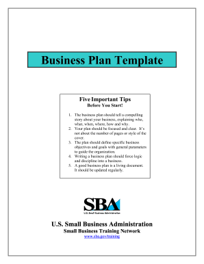 fill in the blank business plan form