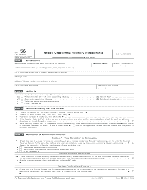 irs form 56 notice concerning fiduciary relationship