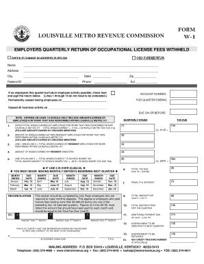 Fillable Online louisvilleky W1 Form Website.dot - louisvilleky ...