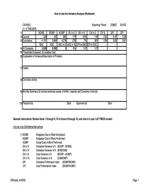 acwp calculation formula Form - Edit & Fill Out Online