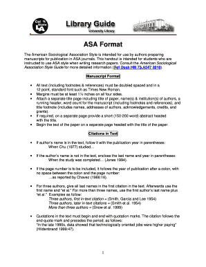 asa format california state university los angeles