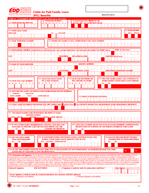 Form Claim Paid Family Leave - Fill Online, Printable, Fillable ...
