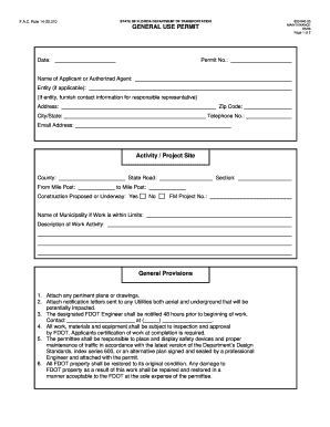 fdot milepost map - Fill Out, Print & Download Online Forms