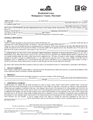 montgomery county rental application form