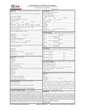 taa lease contract 2010-2018 Form TAA Apartment Lease Contract Fill Online, Printable ...
