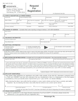 2010 Form PA MV-140 Fill Online, Printable, Fillable, Blank ...