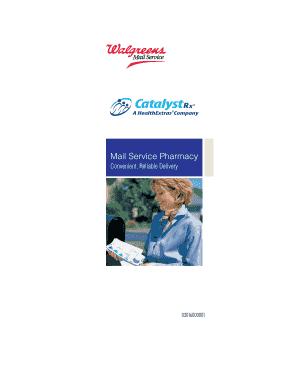 Walgreens Mail Service Prescriber Fax Form Ctrx - Fill Online